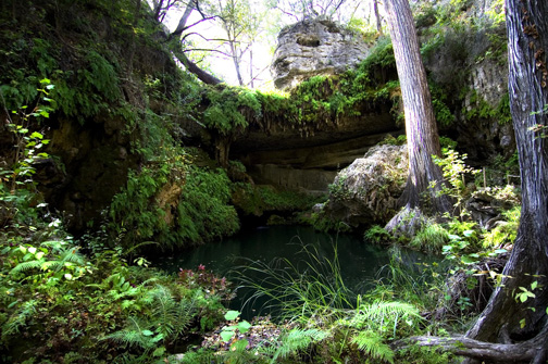 Grotto Texas Hill Country